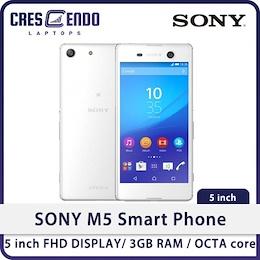 [BRAND NEW] SONY M5 SMART MOBILE PHONE / 5 inch FHD DISPLAY/ 3GB RAM/ Dual SIM / 1 Month Warranty