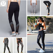 Yoga Costume Lululemon /Fitness wear/Short Sleeves/Yoga Tanks/Yoga Pants/Sports Bras