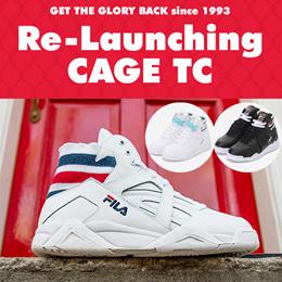 [FILA] Heritage Fila Cage TC Uniesex Sneakers Game point Premium FILA 4type FS1HTA3171X FS1HTA3172X