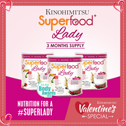 3MTH SUPPLY 💫SUPERFOOD+ LADY 500gx3 tins💫 [High Calcium Iron FolicAcid Meal Replacement]