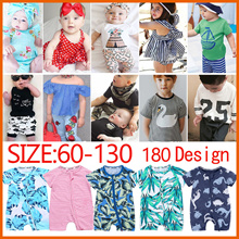 💖Baby clothes💖(66㎝-130㎝)Newborn Baby Girls Boys Outfit Cute Cotton Romper Playsuit Bodys   shirt