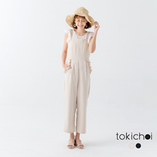 TOKICHOI - Jumpsuit with Ruffle Detail-171101