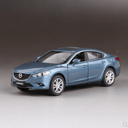 Alloy Model Simulation Mazda Atez Simulation Car Model Children Toys