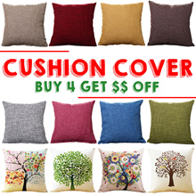 【Buy 4 Get $$ Off 】♡ Cushion Covers ♡ Spring New ♡ Sofa Cushions ♡ Pillow Case ♡ Home Deco ♡ Cotton