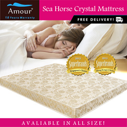 Sea Horse Crystal Foam Mattress Single Size /Super Sing Size/Queen Size/FREE DELIVERY