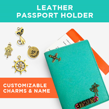[Clearance Sales] Customized/Personalized Leather Handmade Passport Holders/Covers