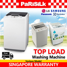 Panasonic / Samsung / LG / Midea / Electrolux Top Load Washer - Singapore Warranty