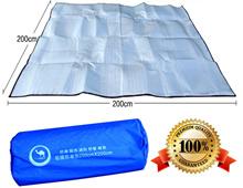 Aluminium Foil Mat Outdoor Picnic Cushion Pad Waterproof 200cm x 200cm