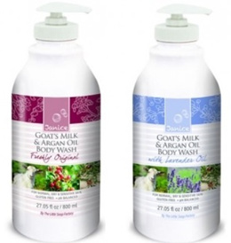 [JANICE] GOATS MILK WITH ARGAN OIL 800ML (ORIGINAL/LAVENDER)Made in Canada - Include Smartpac delivery