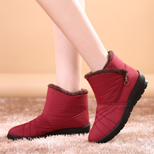 Winter boots snow boots Women Rain boots Ladies boots Winter shoes men and women Withstand -30°