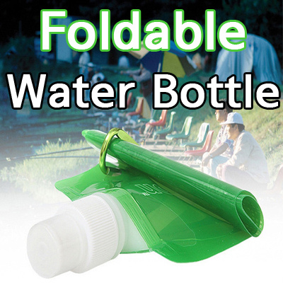 Unique Lab[Made in KOREA]Foldable Water Bottle / Water Bottle / Sports  Water Bottle / Water Bag BPA Free