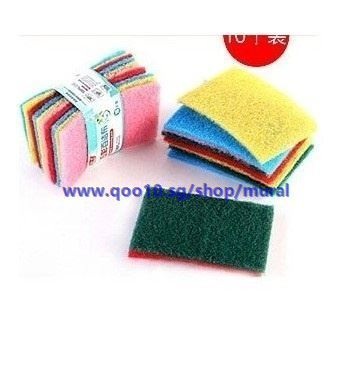 Korea magical color kitchen sponge scouring pad to clean wash cloth kitchen  essential creative home1 4f2eff827dbf1