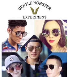 【V Brand】Hot Star Fashion/KOREA POPULAR /2017 NEW MODELS* Gentle Monster Sunglasses