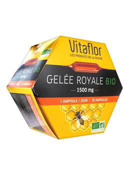 Vitaflor Royal Jelly 1500mg Organic 20 Phials