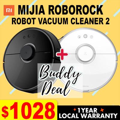 MIJIA[Buddy Deal] Xiaomi MIJIA ROBOROCK Vacuum Cleaner 2 with Local Warranty