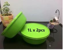 2pcs/set Tupperware Round modular Bowl 1.0L X 2pcs