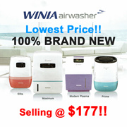 WINIA AIRWASHER HUMIDIFIER | AIR PURIFIER | AIR CLEANER | ELITE (4.5L) MODERN PLASMA (9L) | AWEE-25P