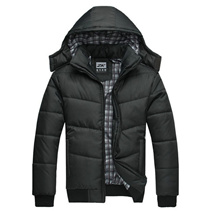 Winter cotton padded clothes Men coat jacket down jacket