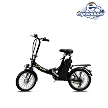 Free Shipping ★ / electric bike upgrade with bills VAT Amiello Ver.2 high performance motor 36V Built-in lithium 10.4ah battery 16-inch tire mounted