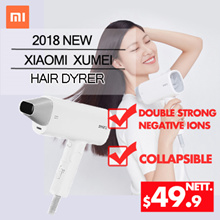 Original Xiaomi -Smart Electric Hair Dryer Blower Strong Wind
