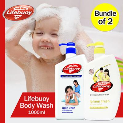 [BUNDLE OF 2] LIFEBUOY Body Wash 1000ml