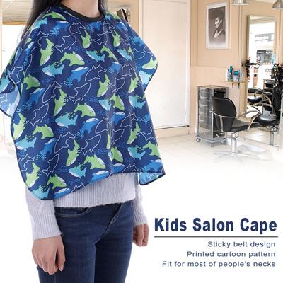 Qoo10 Kids Apron Hair Cloth Hairdressing Salon Cape Children Hair