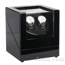 Premium Automatic Battery DC Powered Watch Winder Winding Watches Box Case Storage Free Adapter