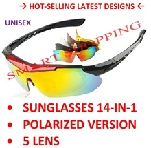 100% Authentic and Original Rivbos Sunglasses Polarized Sports UV Protection Interchangeable lens cy