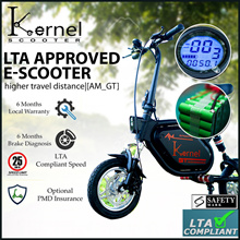 ✔️LTA Compliant ⭐Re-stocked⭐E-Scooter🛴⭐ AM_GT⭐ LTA APPROVED ⭐ ⭐Safety