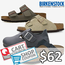 [BIRKENSTOCK] Apply $8 Qoo10 Coupon!! BEST SLIPPER COLLECTION 21 STYLES