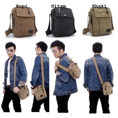 F6662 sling bag - khaki
