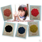 10pcs Korean children cute hair accessories bangs magic panacea stickers affixed Velcro fixed trace