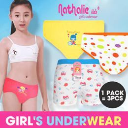 Get 3 Pcs   Nathalie Kids Celana Dalam Anak Wanita. 7b5ff08181
