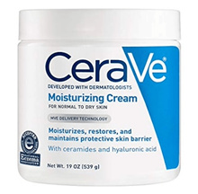 CeraVe Moisturizing Cream 19 oz (Jumbo Size) Daily Face and Body Moisturizer for Dry Skin