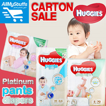 【HUGGIES】●HUGGIES Platinum Pants/Diapers ● CARTON SALE