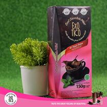 Minuman Cokelat Instant - Exotico Beauty Choco Mint - Cokelat Kolagen