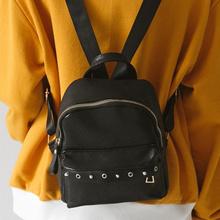 [Rurubag] Lovely Mini Backpacks Women s Backpacks Stud Backpacks Classic Backpacks Travel Backpacks