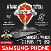 Nanotech Tempered Glass Samsung Galaxy Note 10/9/8/S10/S10e/S10 Plus/S9 S8/S6/S5 5 4