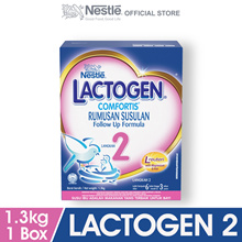 LACTOGEN 2 Comfortis Follow Up Formula 1 Box of  1.3kg