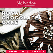 [Melvados] Popular 1.5KG Royal Chocolate Cake! FREE DELIVERY!