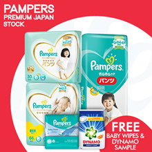 [PnG] [FREE BABY WIPES AND DYNAMO POWDER] Baby Dry Diapers Pants / Diapers / Premium Care Diapers