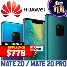 Huawei Mate 20 / 20 Pro Smartphone / 128GB ROM + 6GB RAM / Local Set with 2 years Local Warranty