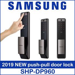 Samsung NEW SHP-DP960 Digital Door Lock Pull from Outside