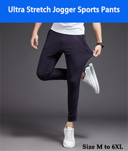 Latest selection Men Jogger Pants in Camo and Solid Colours