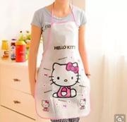 1 벌 / hello Kitty PVC 방수 앞치마 주방 부품 집 청소 방 Du 판매
