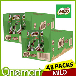 [MILO] 6x200ml ★ Carton Sale ★ ACTIVGO Drink Packs ★ 48 INDIVIDUAL PACKS ★ FRESH STOCKS