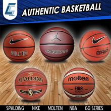SPALDING MOLTEN NIKE FIBA APPROVED GG7X GG6X NBA GOLD SILVER OFFICIAL BASKETBALL COMPOSITE
