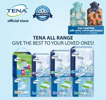 [Slip Plus Free 6pcs][Free HeatPad][Free Shipping][Apply Q10 Coupon] TENA Adult Diapers Carton Sale