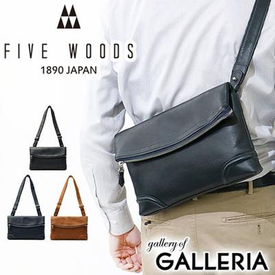 Five Woods bag FIVE WOODS shoulder PLATEAU plateau shoulder pouch shoulder bag  diagonally cliff bag diagonally 5ba2242cda4f1