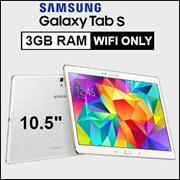 (Apply $18 Coupon) [Demo Set ] Samsung Galaxy Tab S / 10.5 inch / 3GB RAM / 16GB ROM / Export set